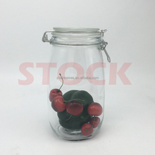christmas wholesale airtight glass storage honey canister