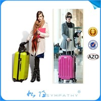 abs luggage,hardshell luggage,abs+pc trolley luggage