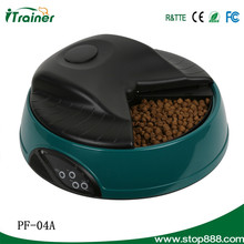 Electronic Portion Control-automatic Dry Food Pet Feeder 4L Capacity for Dogs and Cats Black