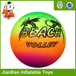Free phthalate pvc beach ball inflatable bouncing ball hollow plastic toys ball