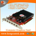 AMD Radeon HD 7750 2GB GDDR5 PCIE3.0 16X 6 mini display multi-dispaly Video Card