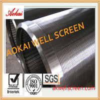 2014! oil&gas screen well screen/wedge wire screen for drilling well