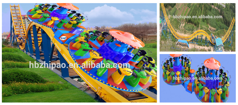 manufacturer direct ride most popular water amusement park ride big splash flume ride for sale
