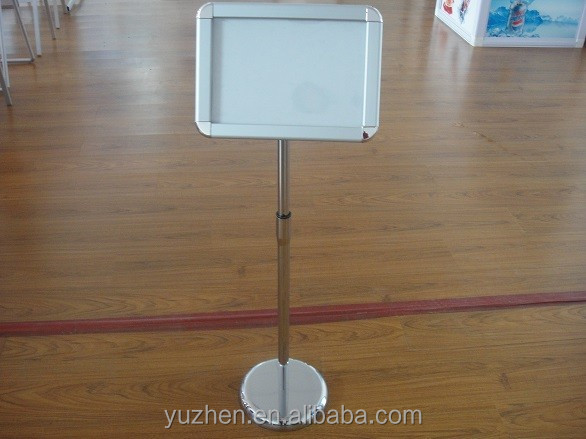 Aluminum picture frame poster stand,Retractable Poster Stand,Advertising sign stand