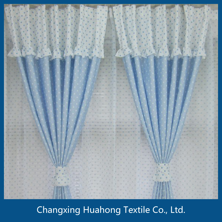 factory direct sale fabric curtain