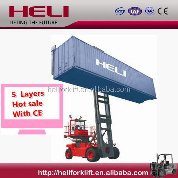 HELI FORKLIFT Empty Container 5 layers WITH CE FOR SALE Handler