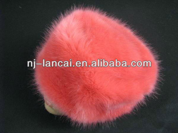 Lancai-Quality Primacy Beautiful Design Fashion Fox Faux Fur Satin Lining Hats With Russian Style