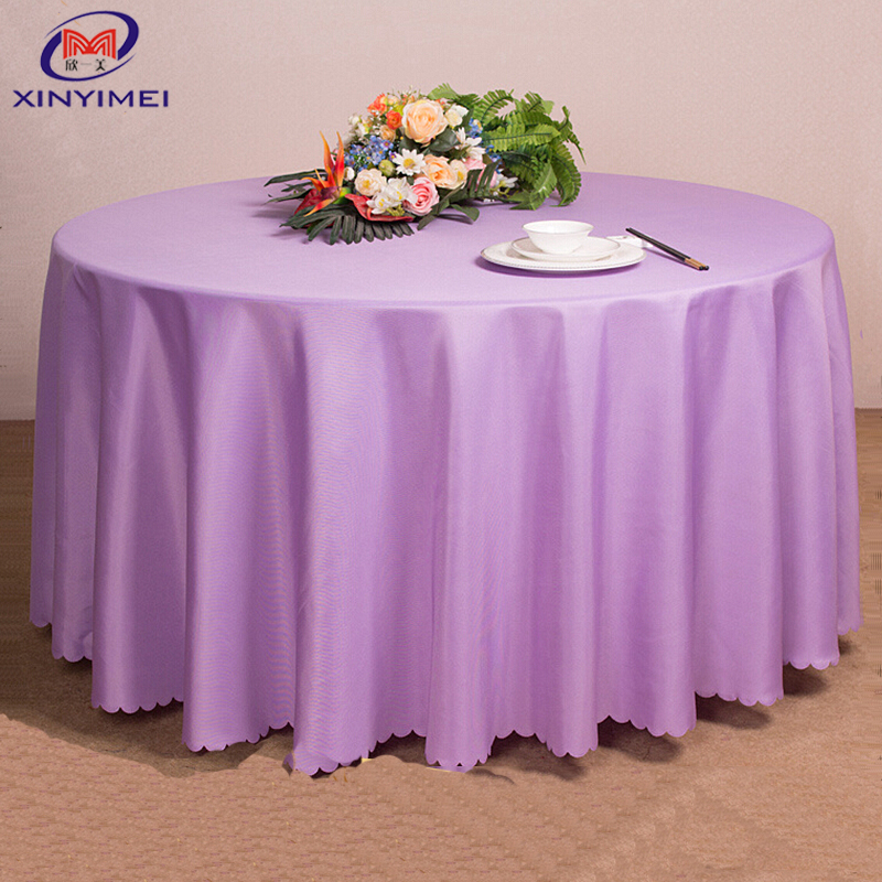Popular plastic sheet table cloth