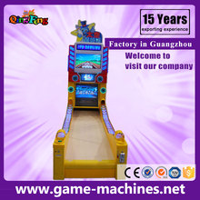 Qingfeng hot sale children bowling machine amusement coin operated game machine