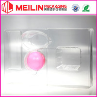 clear PVC tray PET blister