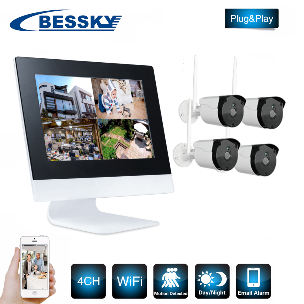 Best quality onvif wifi surveillance camera system cheap 720P kit digital slr camera kits