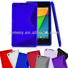 NEW SOFT S LINE TPU GEL BACK CASE COVER SKIN FOR ASUS GOOGLE NEXUS 7 II 2ND GEN