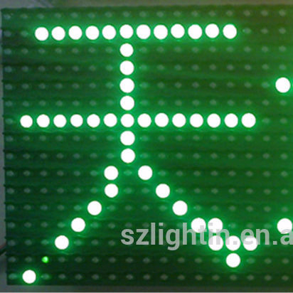 Led module <strong>outdoor</strong> cheap price high waterproof <strong>p10</strong> single green color led display module