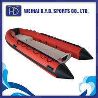 Good Supplier Attractive Inflatable Double Banana Boat