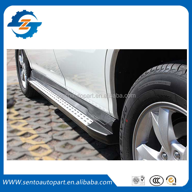 Wholesale ! Car Accessories Aluminum Alloy Original style Side Step /Car Running Board for BYD S6