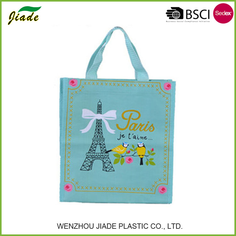 Top quality eco recycled thermal insulated shopping bag