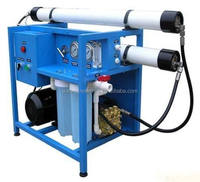 Shipping boat drinking water treatment machine for seawater desalination
