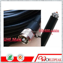 RF LMR400/7D-FB low loss cable assembly cable with UHF Male Plug Crimp Crimp jumper