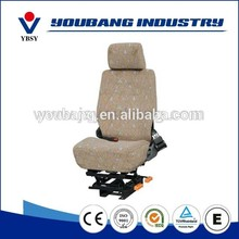 high density pu cover automotive bus driver seat for hospital