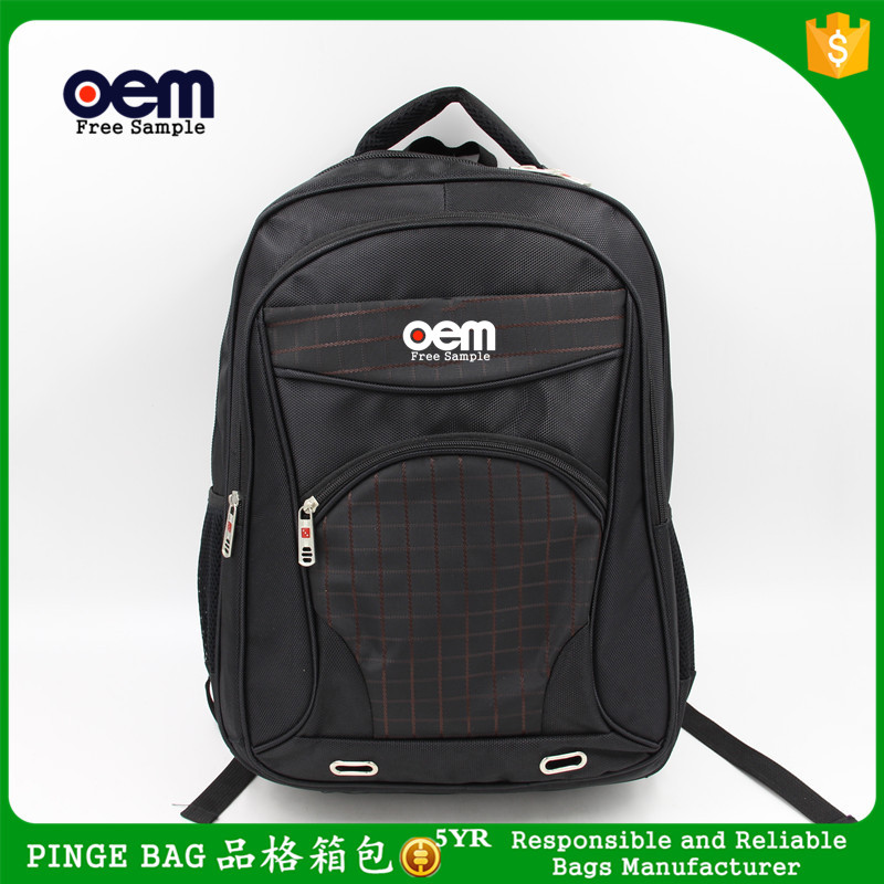 Black Men's Business Laptap Bags Computer Bags Wholesale Fashion Laptop Bag for Macbook Air 15inch