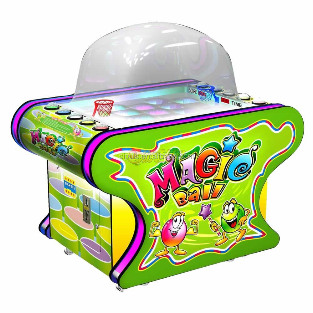 2014 Hot Selling Magic Ball Mini Redemption Kids Ball Game Machine
