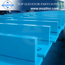 13K T type fishplate for elevator guide rail|rail fish plate
