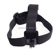 Gopros head strap mount Elastic Adjustable Head Strap For Go Pro He ro 4 3+/3/2/1 GP23