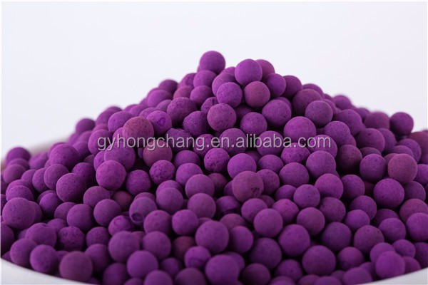 Purple sphere potassium permanganate activated alumina for sale