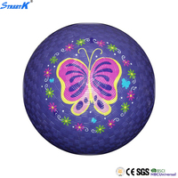 Wholesale high quality custom inflatable kid rubber playground ball kids toy