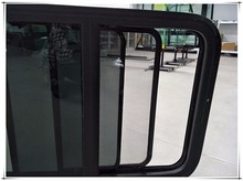 rv parts aluminum frame side sliding motorhome & rv window