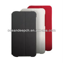 2013 newest product folio stand style flip leather case for Blackberry Z10