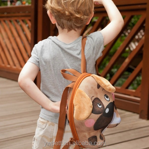 Wholesale alibaba kids backpack animal dog backpack diaper bag