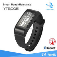 2016 new Heart rate monitor Smart Bluetooth Watch with pedometer