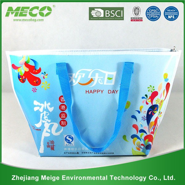 BSCI audit factory pp non woven or ployester cooler bag/picnic cooler bag/wine cooler bag