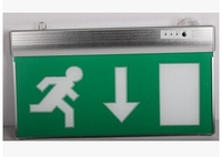 2015 new factory price fire emergency led wall mounted emergency exit sign