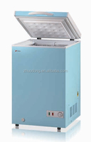 high quality solar energy household deep portable ice cream freezer