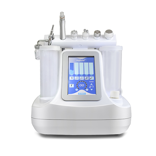Wholesale 6 In 1 Korea Small Bubble Ultrasonic Micro Water Dermabrasion Aqua Peeling Beauty Machine