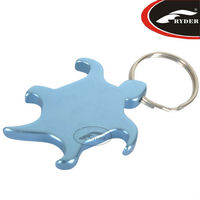 Beautiful Aluminum Turtle Shape Bottle Opener Keychain
