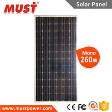 MUST Factory Price High Efficiency A-grade Cell Mono 200w Solar Panel Kit