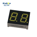 White color blue plus fluorescent 0.4 inch dual digit CA led display 7 segment