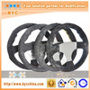 Latest Design 350mm Dry Carbon Fiber Racing Car/Boat Steering Wheel