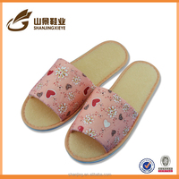 new design eva slipper ladies footwear China colorful kniting slippers