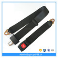 Polyester 2 points safety belt type safety seat belt for bus /vehicle /van made in china