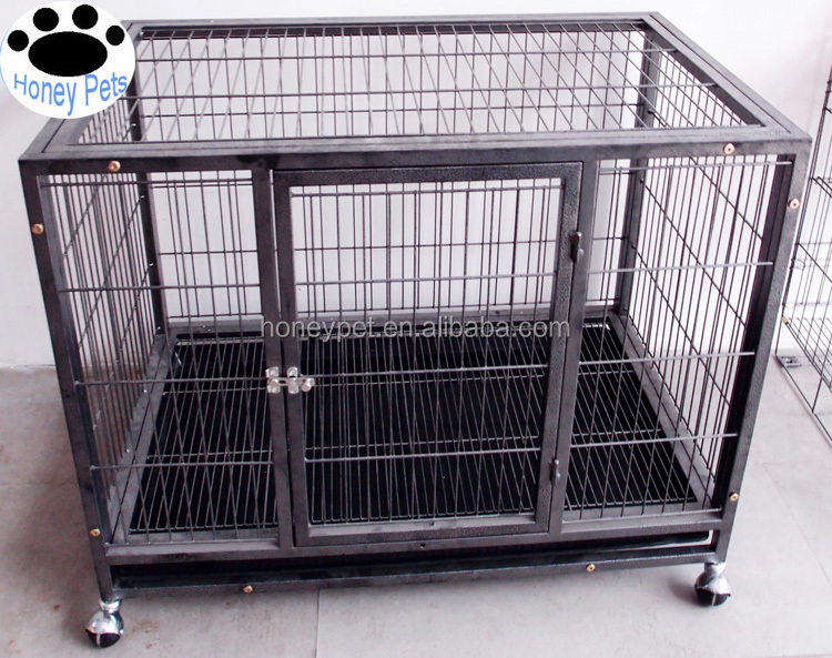 Wholesale large dog kennel f abric dog cage.