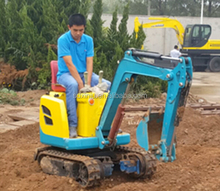 cheap Chinese 0.8 tons mini excavators for sale with KOOP engine small crawler hydraulic
