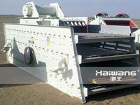 Large Bear Capacity Sieve Stone Screening Machine For Mineral Processing