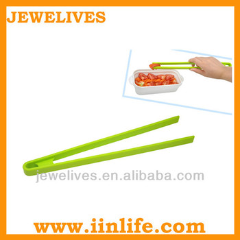 Silicone chopsticks food dessert fish tong