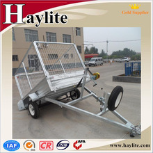 galvanized strong box utility trailer