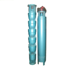 QJ vertical high lift multistage centrifugal submersible pump
