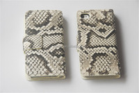 100% Authentic Python Leather Double Sided Case for Iphone 5 OEM ODM